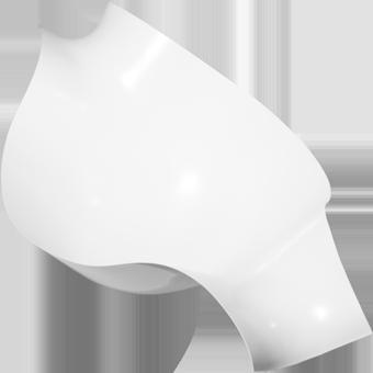 Osłona PVC na kolano biała